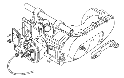 Minarelli-Motor 50 ccm