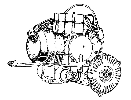 Vespa Motor PX 125 - 150