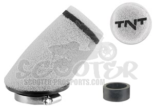 Luftfilter TNT Small Weiss 30° 09er Series Art.Nr. 115023A