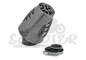 Luftfilter TNT Racing OBUS 30° carbon Design Art.Nr. 115210D