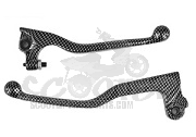 Brems-/kupplungshebel (Paar) Carbon Design - Yamaha DT - MBK X-Limit ab Bj. 03