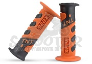 Lenkergriffe Cross 922x Orange/schwarz