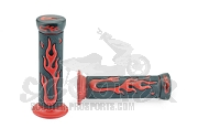 Lenkergriffe Pro Grip - Flame - rot