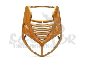 Karosserieteil Frontmaske Orange Metallic