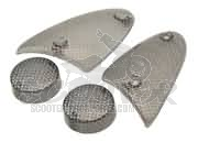 Blinkergläser Set carbon Design - Aprilia SR ab BJ 1997 - WWW - Stealth - Netscaper