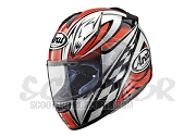 Arai Chaser Leopard Rot