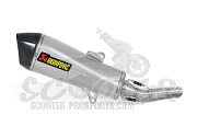 Auspuff Akrapovic Slip-on Line (ABE) - Majesty 400 ab 07