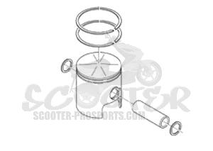 kolben 53 99 mm f r original zylinder aprilia rs 125 ccm. Black Bedroom Furniture Sets. Home Design Ideas