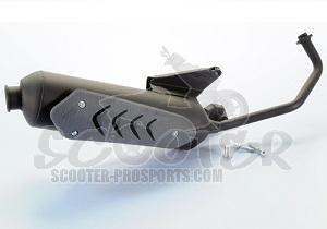 auspuff polini original e pass peugeot speedfight 3 4. Black Bedroom Furniture Sets. Home Design Ideas