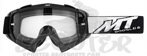Brille Cross schwarz MX XTR II