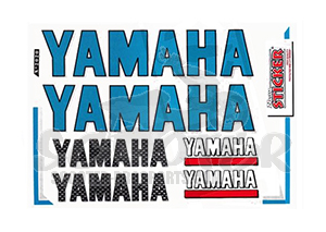 Sponsor Stickerset Yamaha Art.Nr. 982020