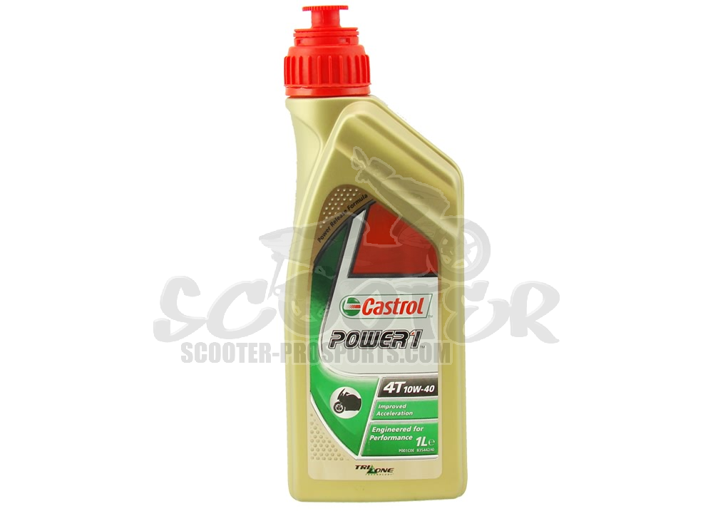 4-Takt Vollsynthetik Öl 10W-40 Castrol Power1 Racing 1l Art.Nr.CA-POWER-4T