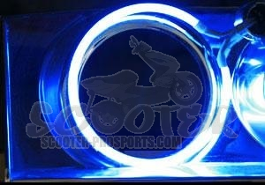 Neonröhre LED Mini Angel Eye Blau 40/59 mm