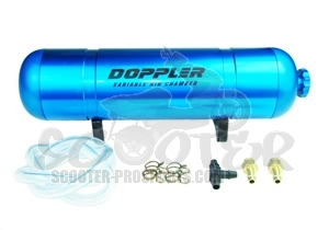 Boost Bottle Doppler blau elox  variabel