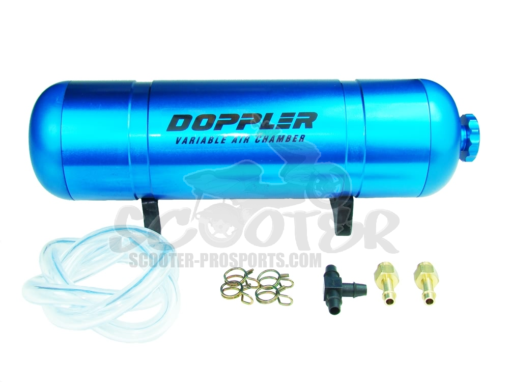 Boost Bottle Doppler blau elox  variabel Art.Nr.DO468113