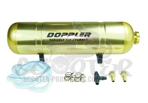 Boost Bottle Doppler gold elox variabel Art.Nr. 468114