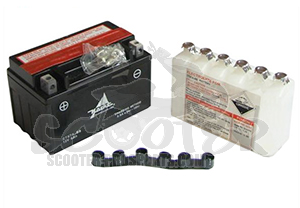 Batterie CTX7A  6Ah 12 Volt - 150x87x94 mm