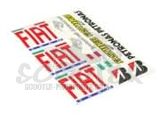 Sponsor Stickerset Fiat Team