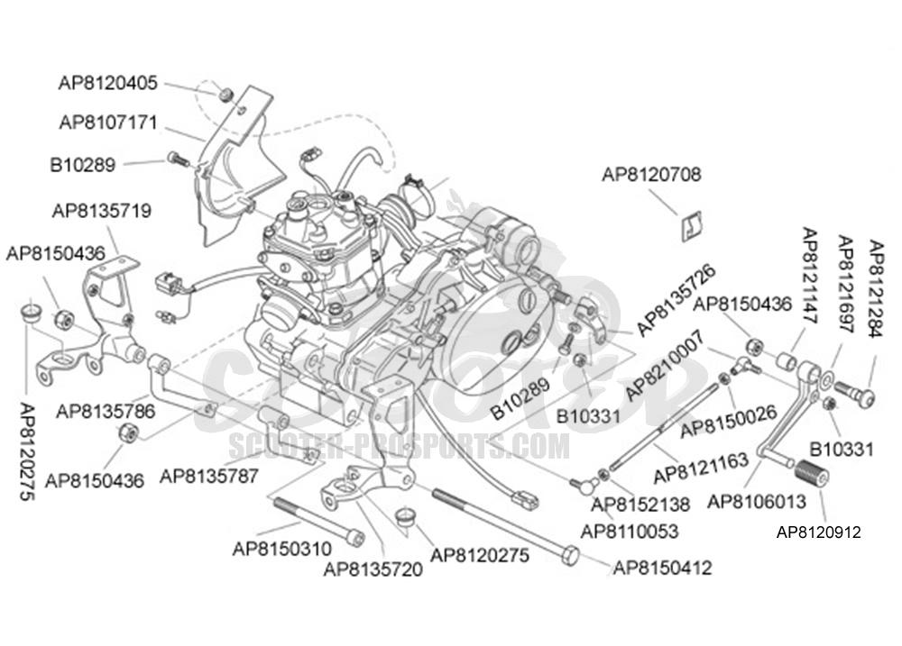 Aprilia Rs 125 Motor √ Scooter-ProSports