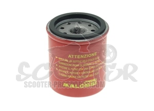 Ölfilter Malossi Red Chilli - Piaggio 125 - 300 ccm - Runner - Beverly - MP3 - Vespa GTS - GTV - X7 - X8 - X9 - Sportcity - Atlantic