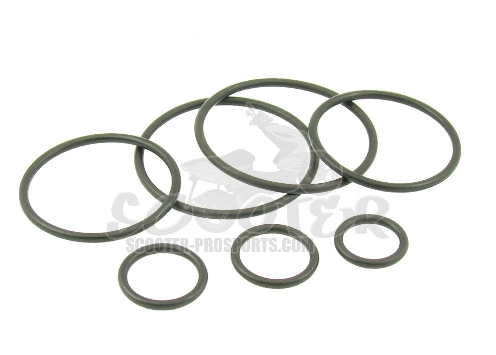 O-ring Set für Malossi F32s Gabel Art.Nr.MS0612248