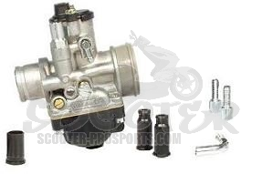 Vergaser Malossi/Dellorto Kit  19,0 mm - Kymco Top Boy - Super 8 - Super 9 - Dink - Like - People