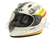 Malossi Racing Integralhelm Weiß