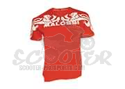Malossi T-shirt Griffe Start Rot