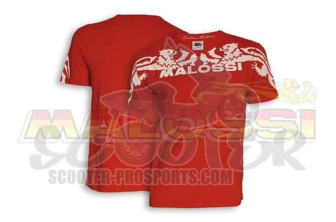 Malossi T-shirt Griffe Start Rot Art.Nr.MS4115284R