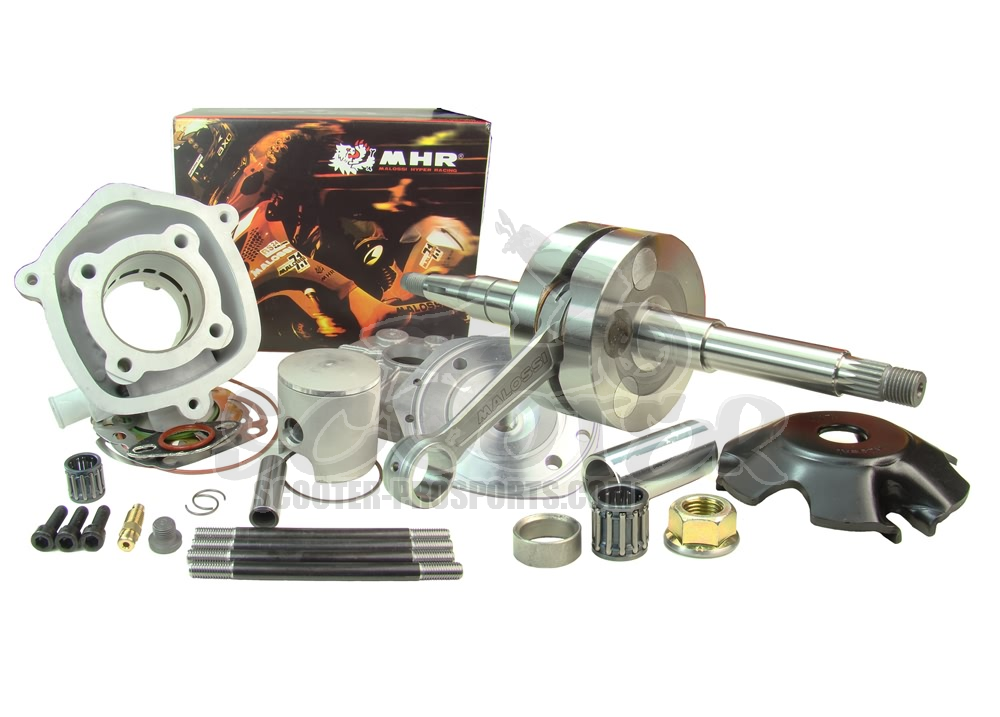 Zylinder und Welle Malossi MHR Big Bore 86 ccm Kit - Piaggio Wasser - Runner - NRG - SR50R - ZIP Art.Nr.MS4914601