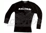 Malossi Long Sleeve Schwarz Collection City