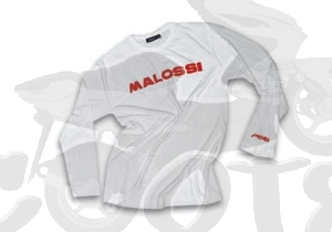 Malossi Long Sleeve Weiss Collection City Art.Nr.MS4113330