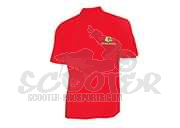 Malossi Polo-shirt Rot Collection City