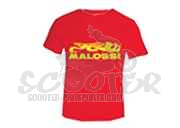 Malossi T-shirt Rot Collection City