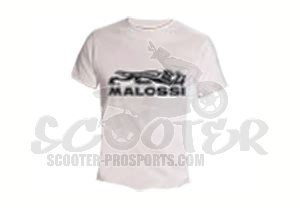 Malossi T-shirt Weiss Collection City