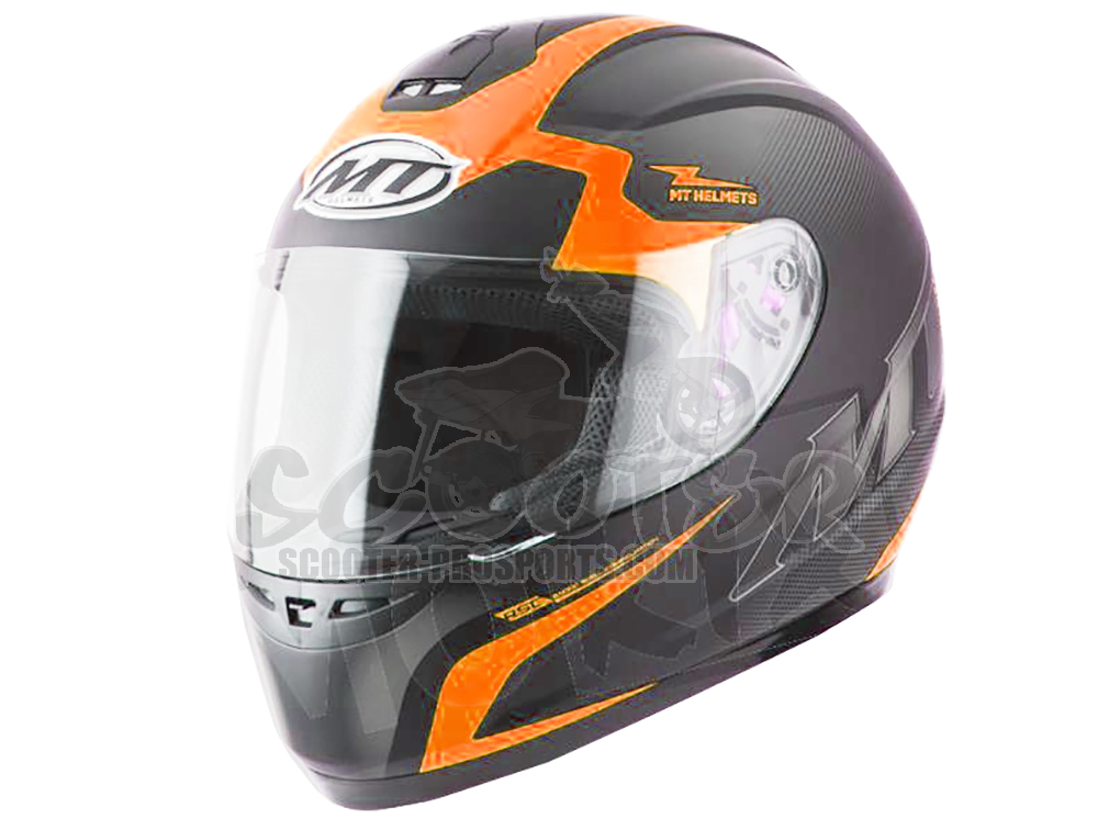 MT Helmets Integralhelm Thunder II Squad schwarz-orange Art.Nr.MT10062382