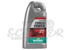 2-Takt Motorenöl Motorex Cross Power Vollsynthetik Rennöl 1000 ml Art.Nr. 171-204-100