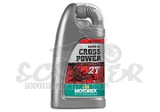 2-Takt Motorenöl Motorex Cross Power Vollsynthetik Rennöl 1000 ml