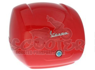 Topcase Kit passione rot - Vespa GTS 125 - 300 ab 2014