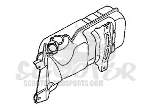 Auspuff Hexagon 250 GT √ Scooter-ProSports