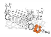 Derbi GPR Nude 50 ab 05 Getriebe Kupplung Übersetzung
