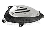 vespa gts gtv 250 300 auspuff sportauspuff scooter prosports. Black Bedroom Furniture Sets. Home Design Ideas