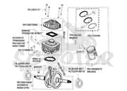 explosionsskizze peugeot motor ludix 50 ccm scooter. Black Bedroom Furniture Sets. Home Design Ideas