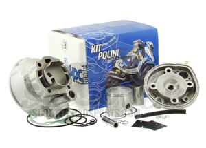 Zylinder Polini Guss Evolution AM6 Motor 80 ccm