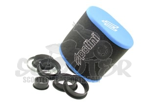 Luftfilter Polini Big Evolution 15-32 mm mit Adaptern Art.Nr. 203.0147
