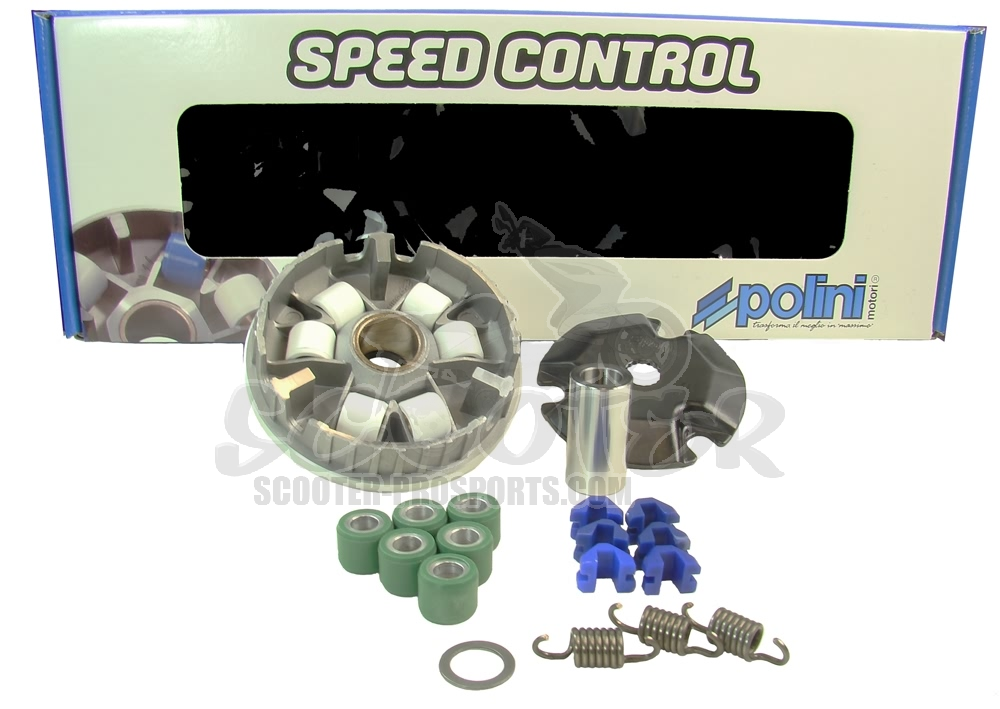 Variomatik Polini Speedcontrol - Derbi Motor 16,0 mm Welle - Atlantis - Predator - Paddock - Hunter Art.Nr.PO241570