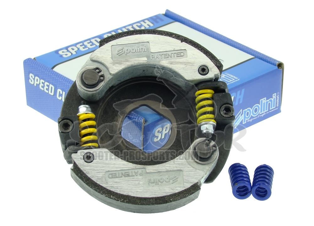 Kupplung Polini Speed Clutch 2G Evo 3 - Piaggio - Peugeot - Runner - NRG - TPH - Jetforce - Speedfight - Ludix Art.Nr.PO249045
