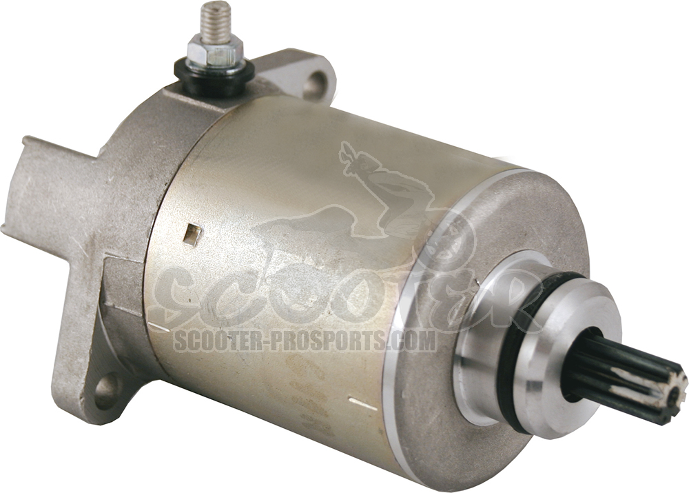 Anlasser - E-Starter - Piaggio 125-150-200ccm - Scarabeo - Sportcity - Runner - Beverly - Hexagon - Liberty - MP3 - Skipper - X7 - X8 - X9 - Vespa LX Art.Nr.RS246390090