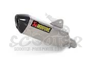 Auspuff Akrapovic Slip-on Line Race (E-Pass) - BMW C 650 Gt
