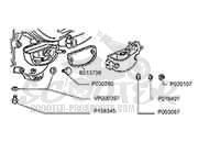 Explosionsskizze Vespa Motor PX 125 150 √ Scooter-ProSports